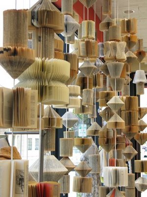 anthropologie book window