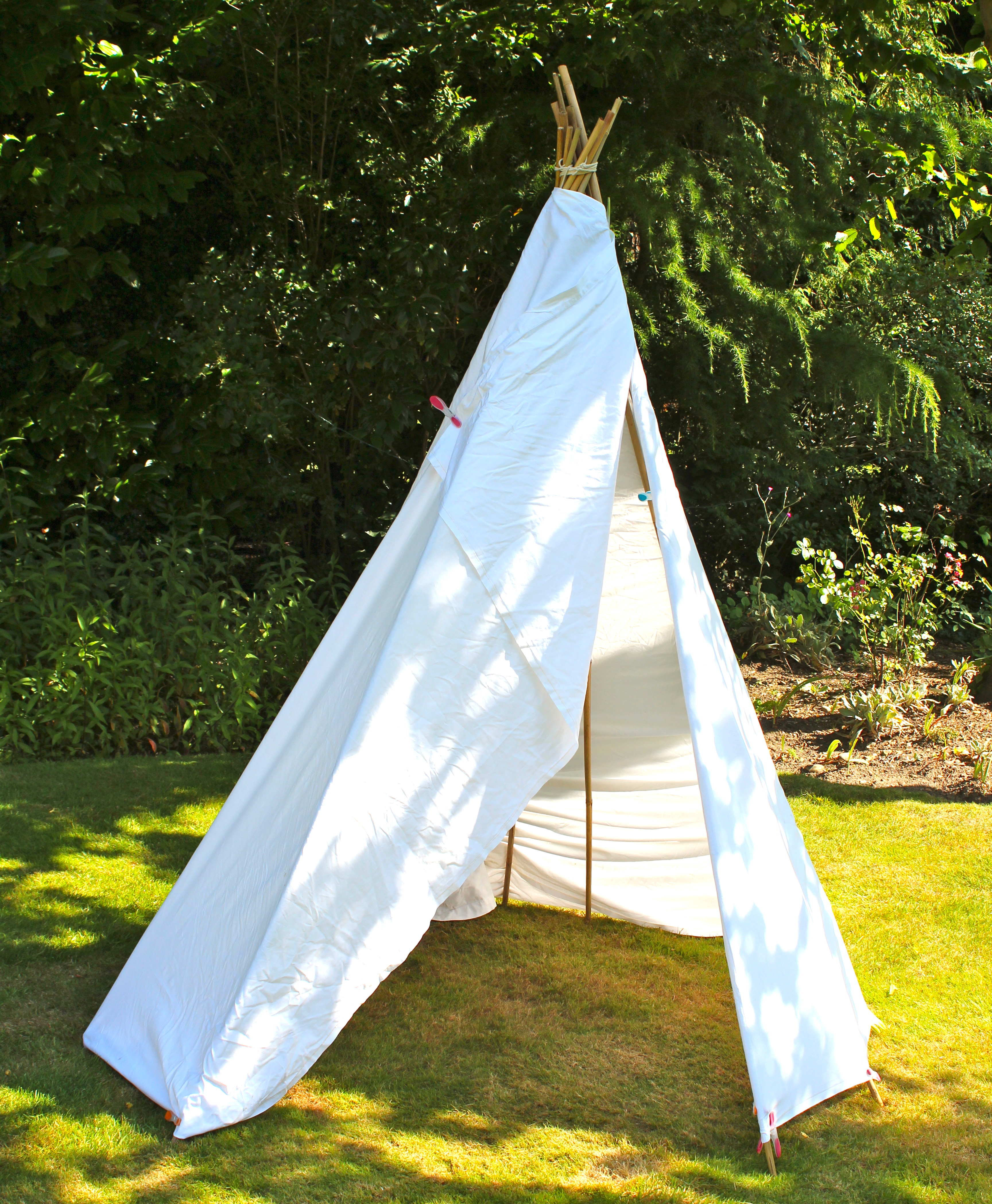 how to build kmart teepee together