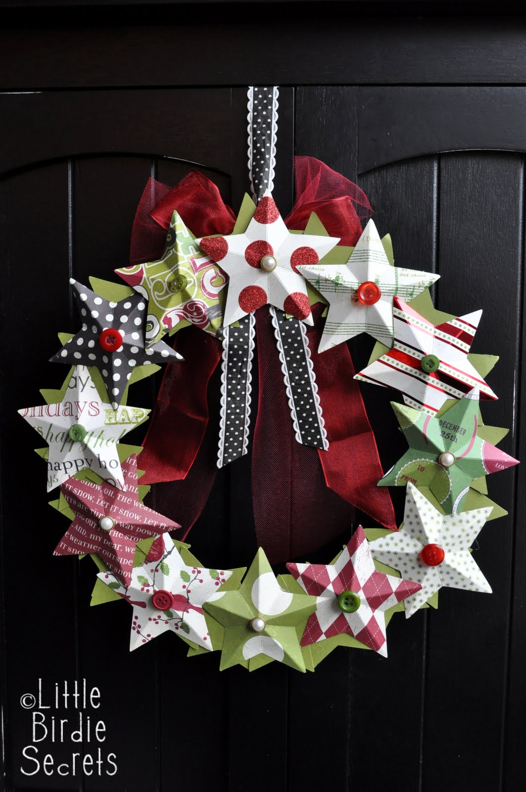 how to make a willow christmas star