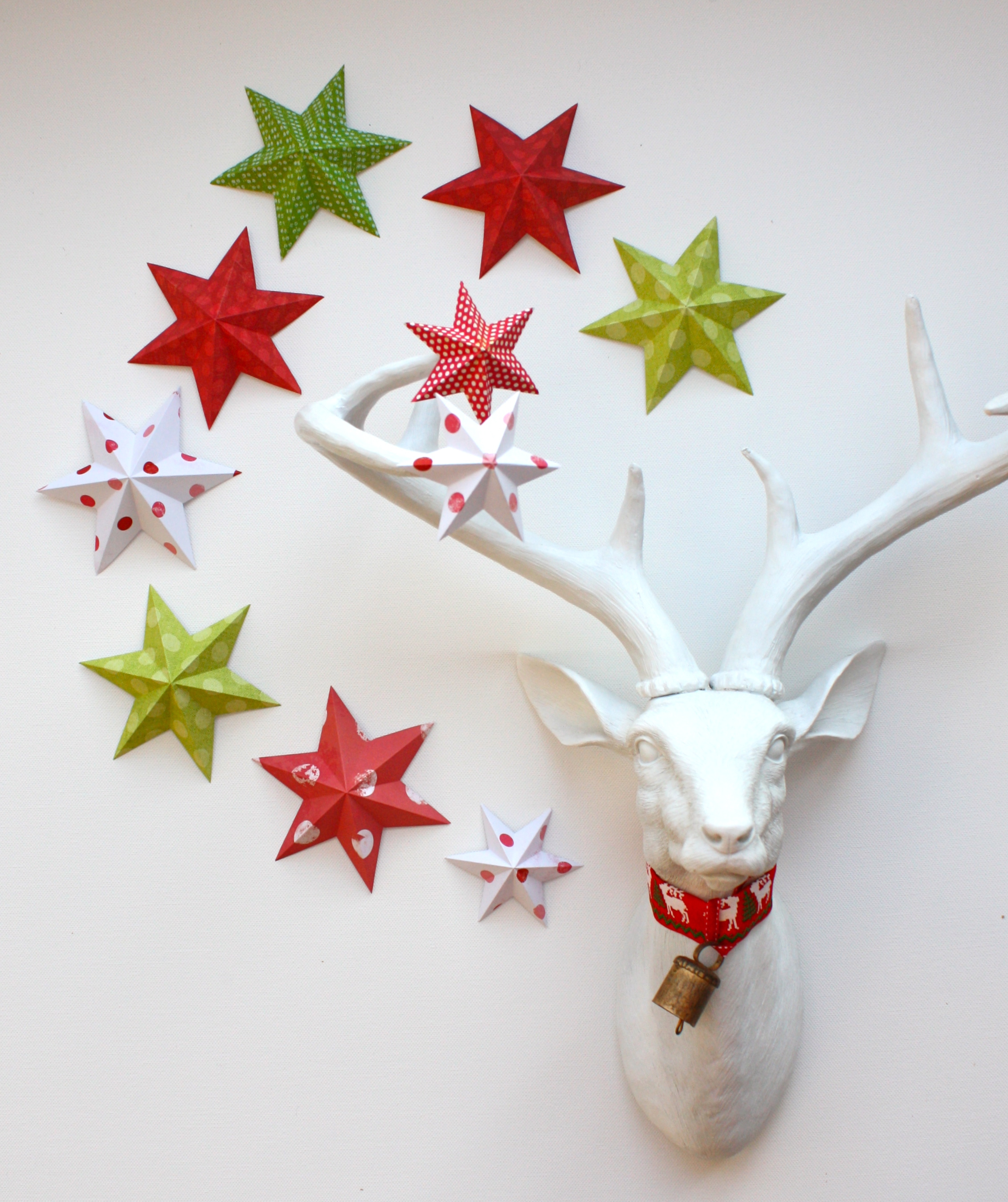 Easy Christmas Decorations Made Out Paper