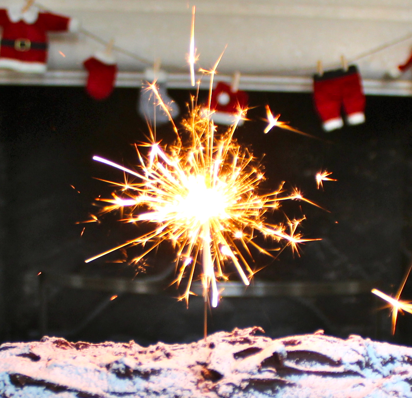 end of year sparkler