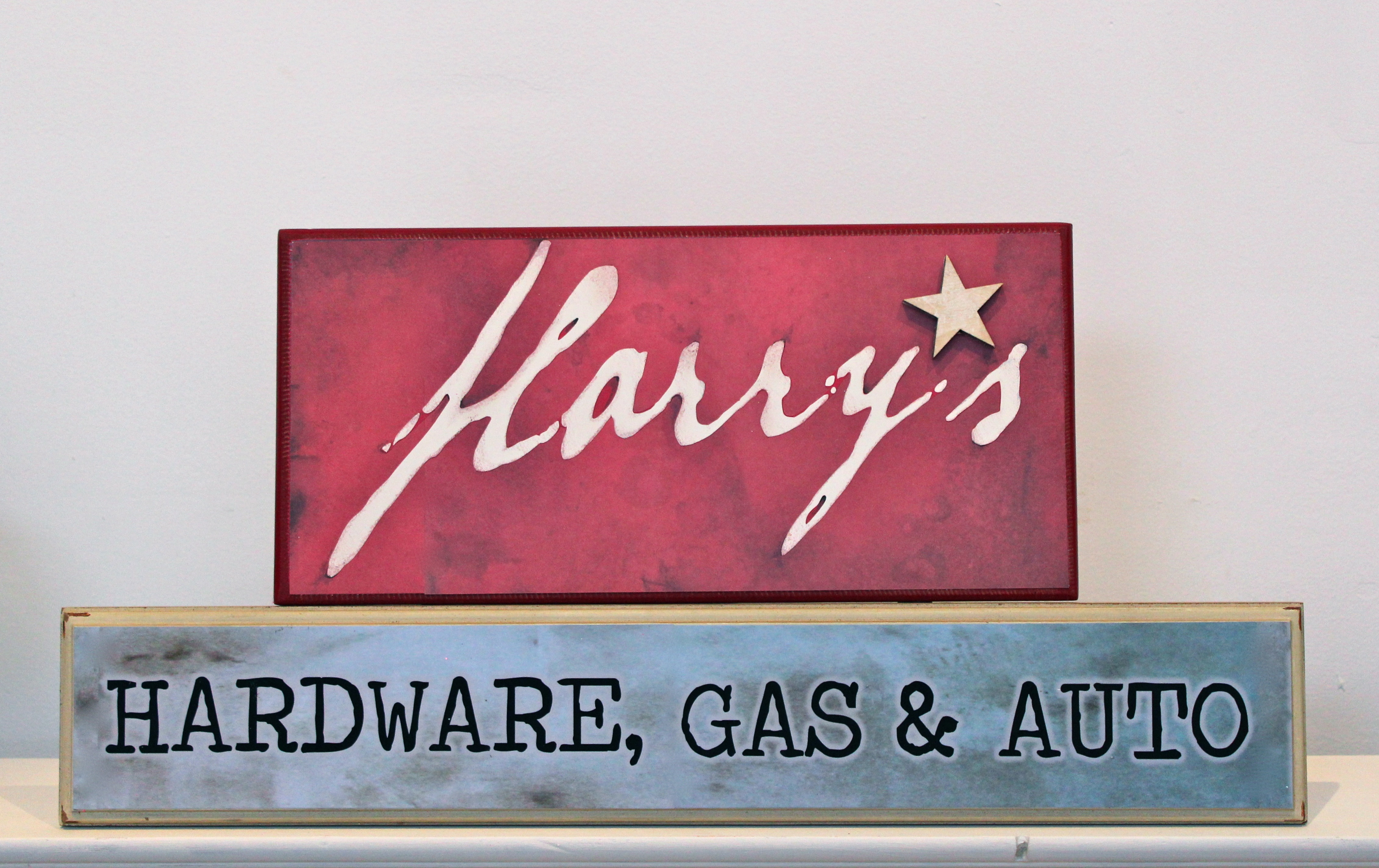 harry store main sign