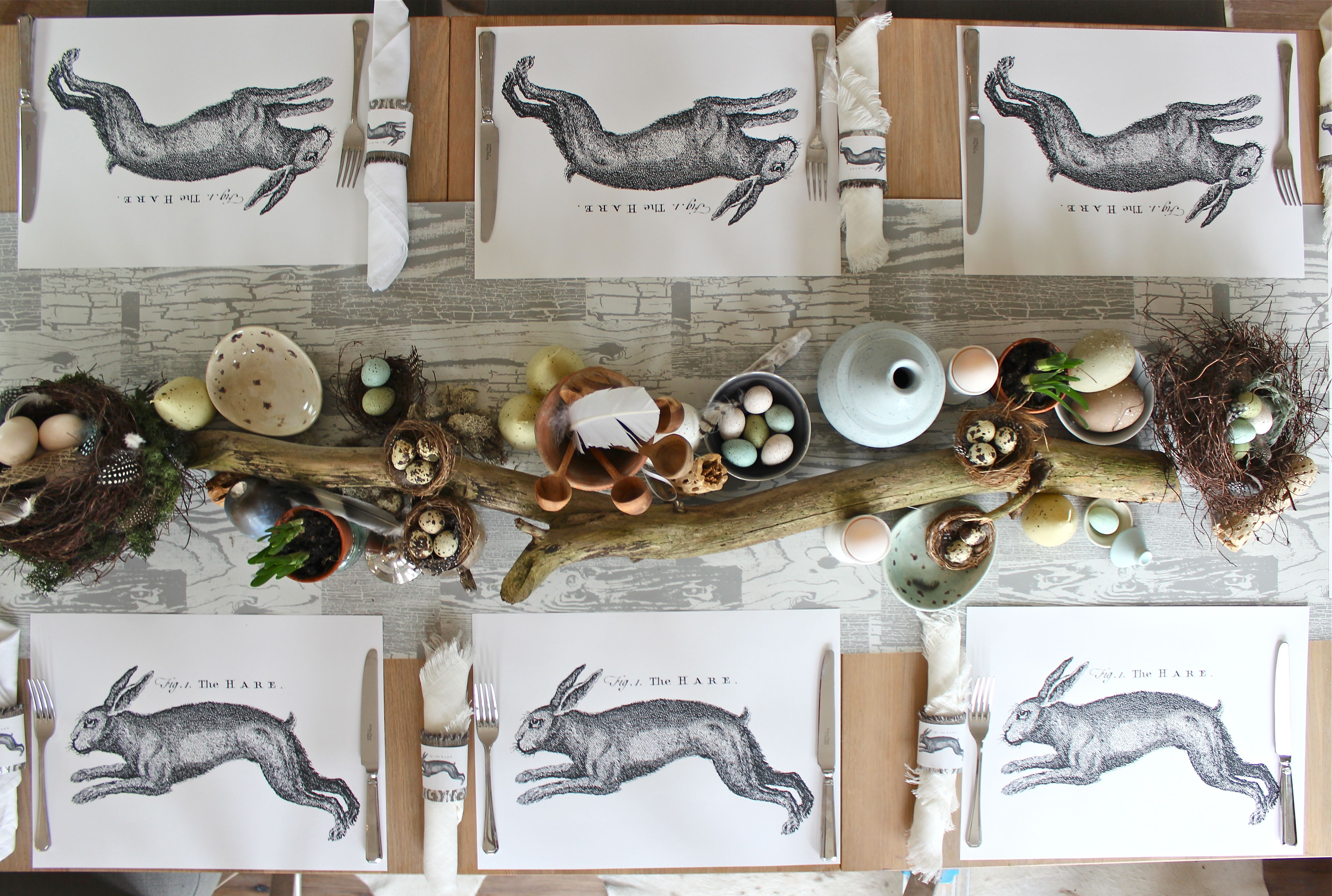 march hare placemat