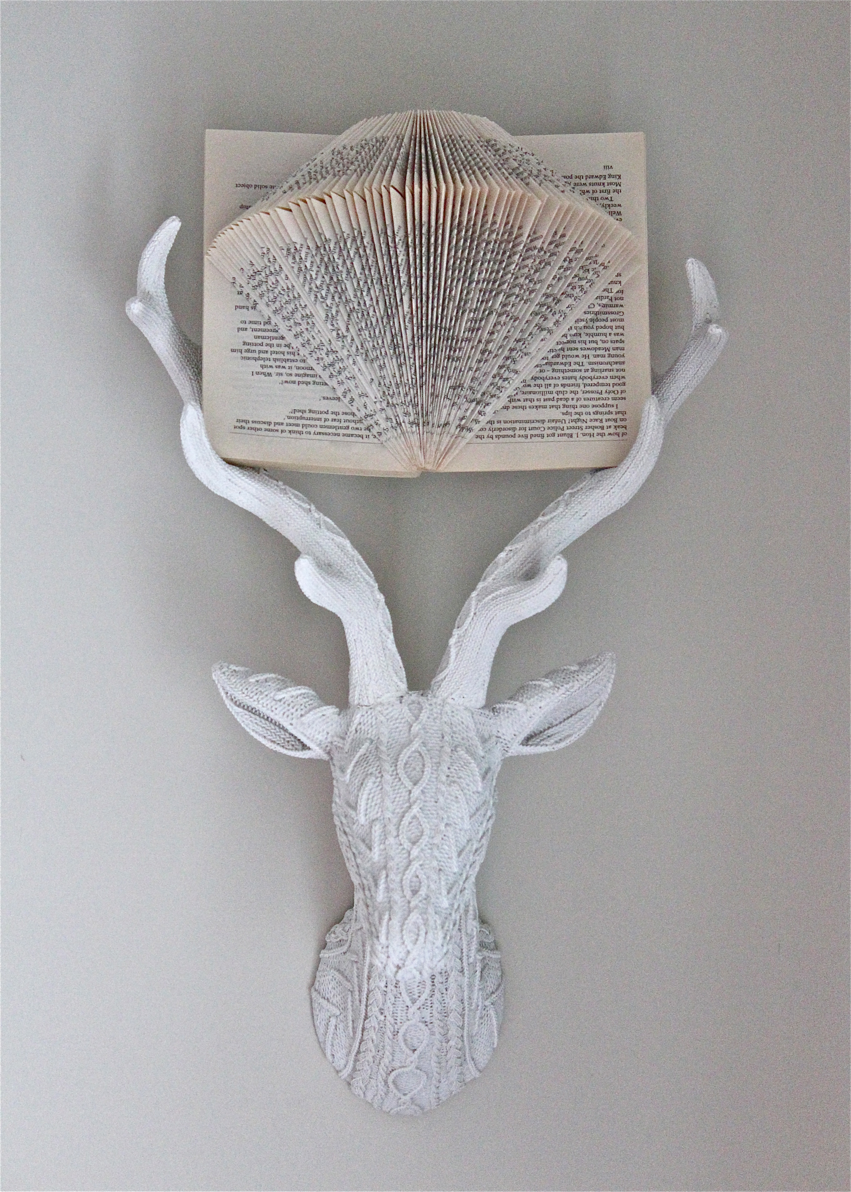 Playroom Book Art and Stag
