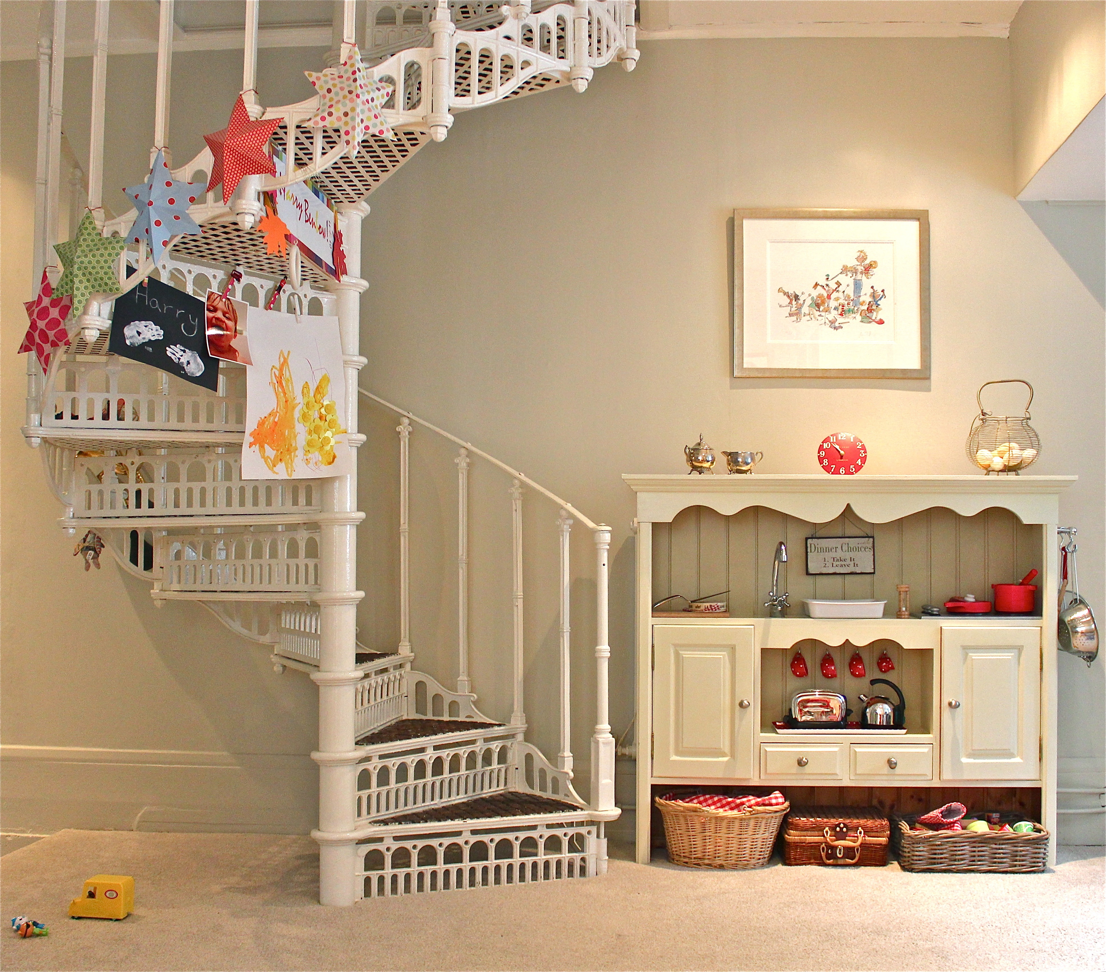 Playroom Stairs