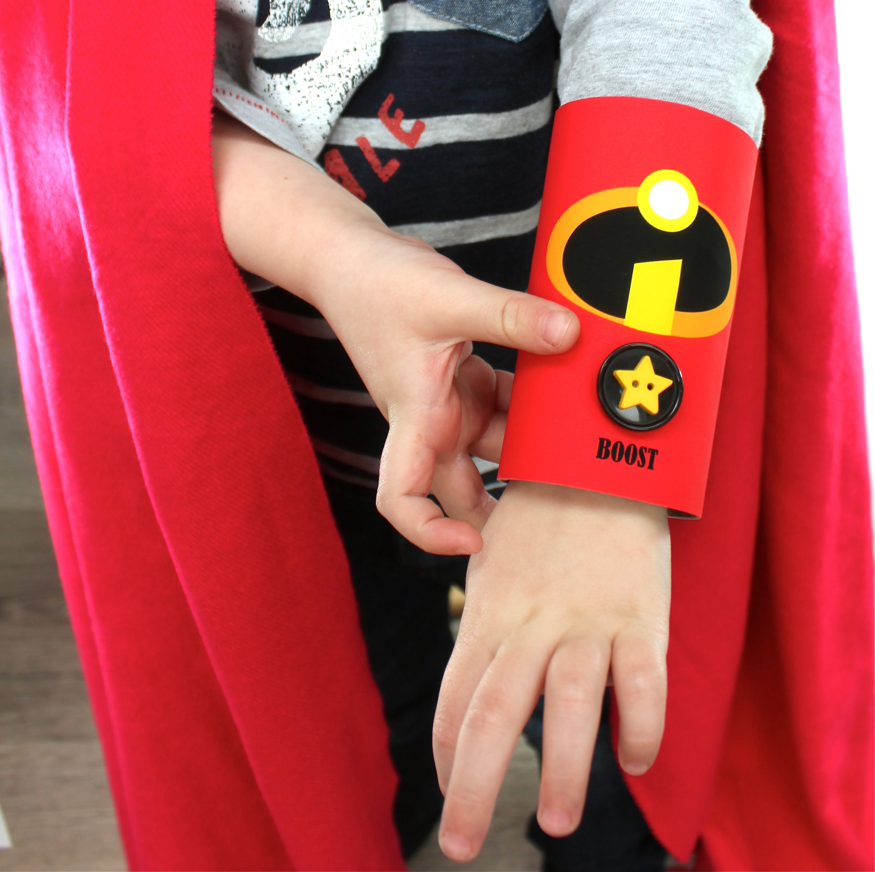 Incredibles DIY cuff