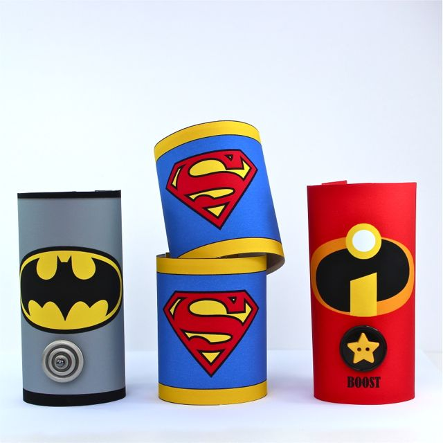 Superhero Cuffs DIY