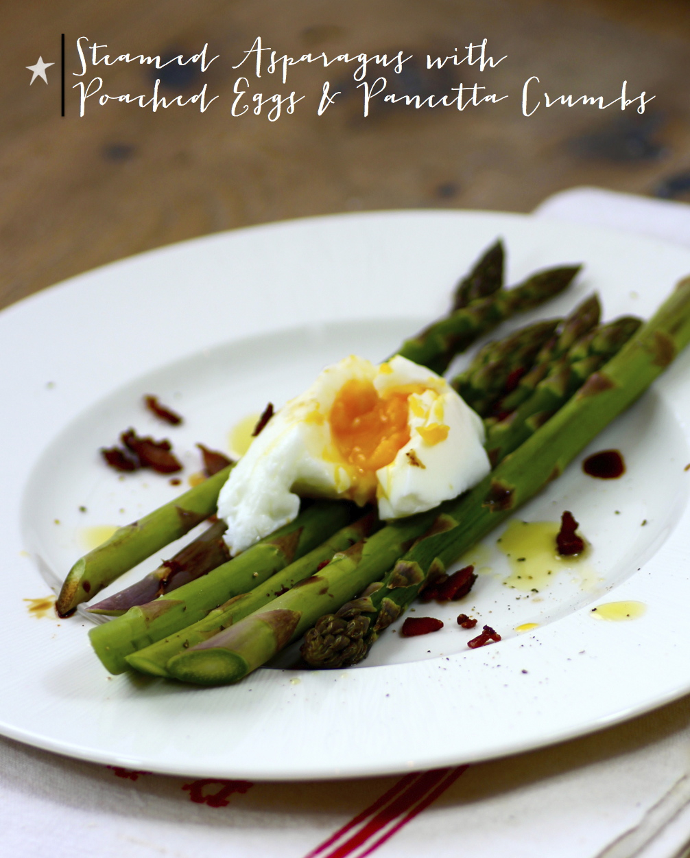asparagus and pancetta