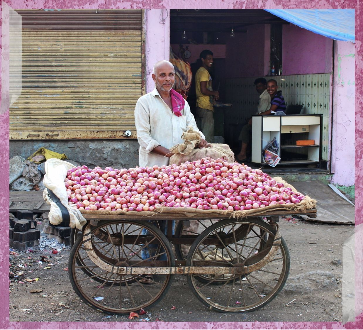 onion seller of ravi nagar
