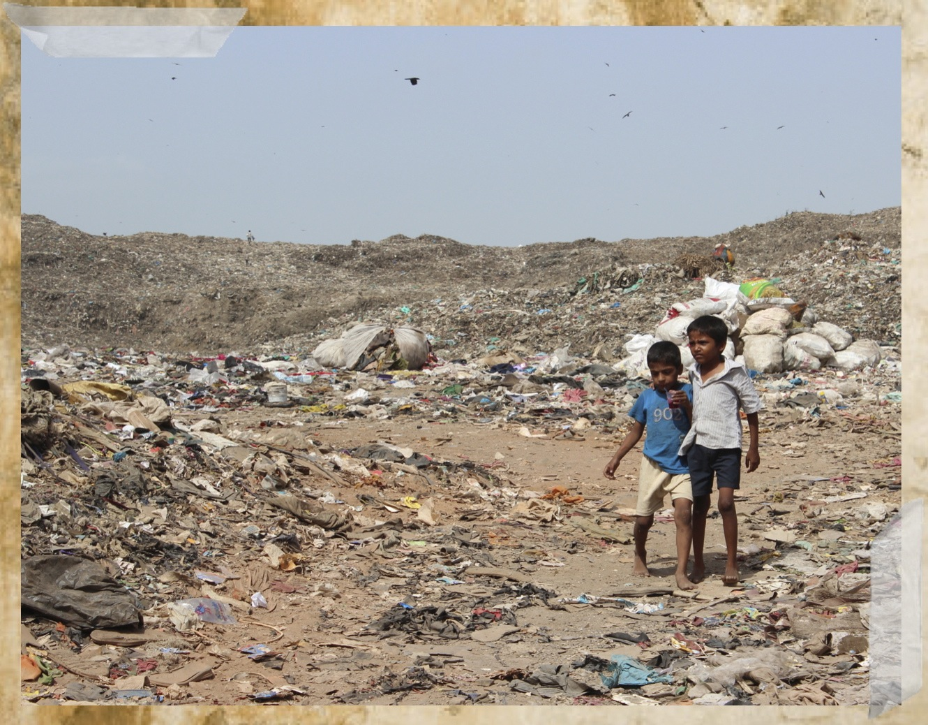 the children of ravi nagar slum