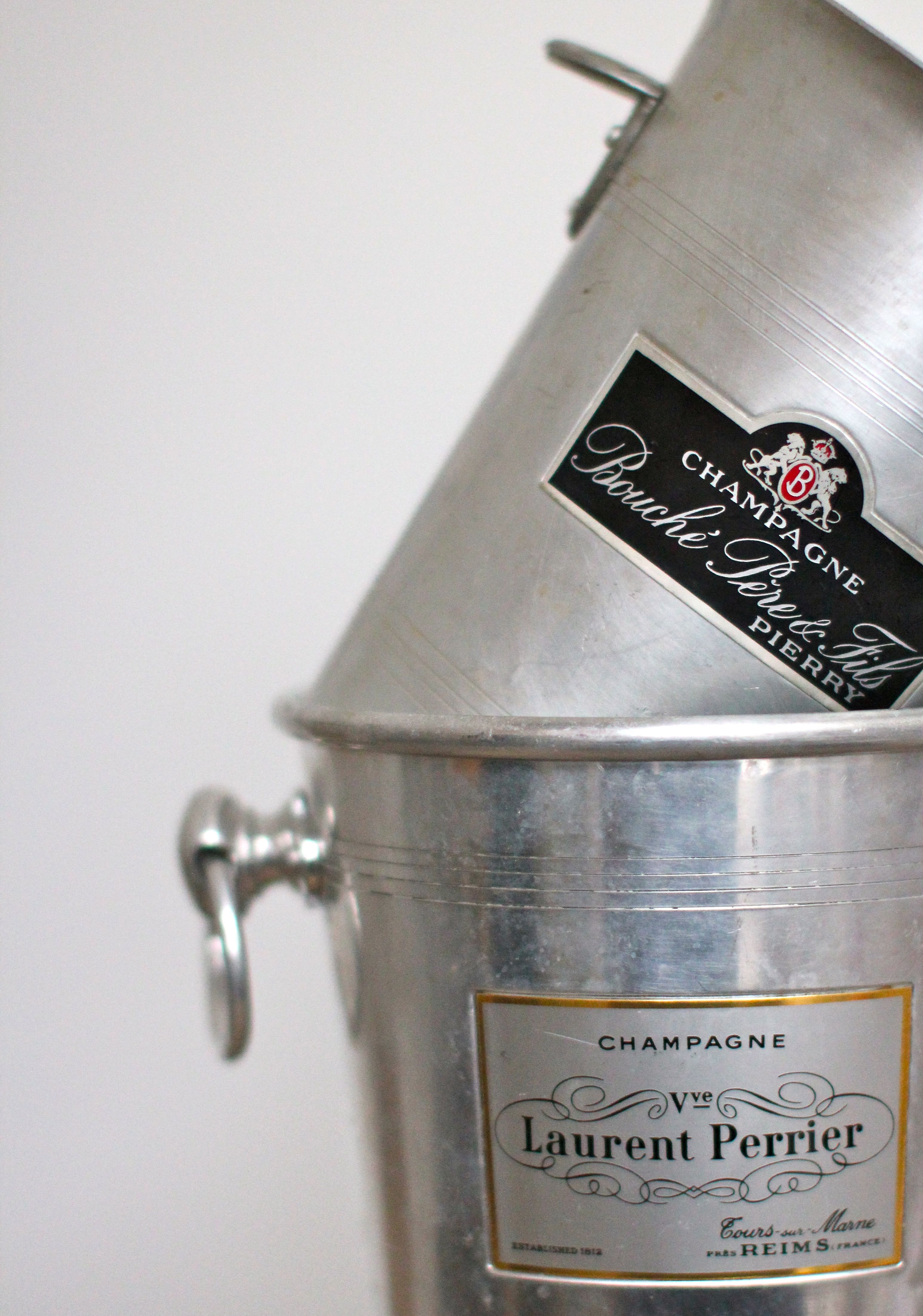 old champagne buckets