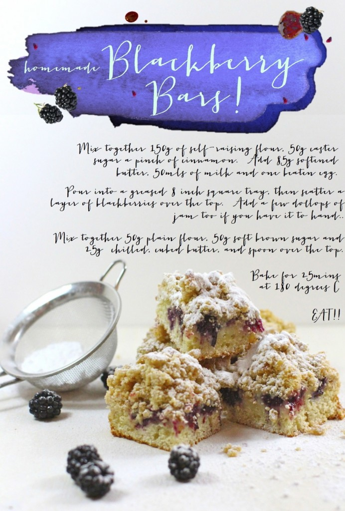 blackberry bars recipe