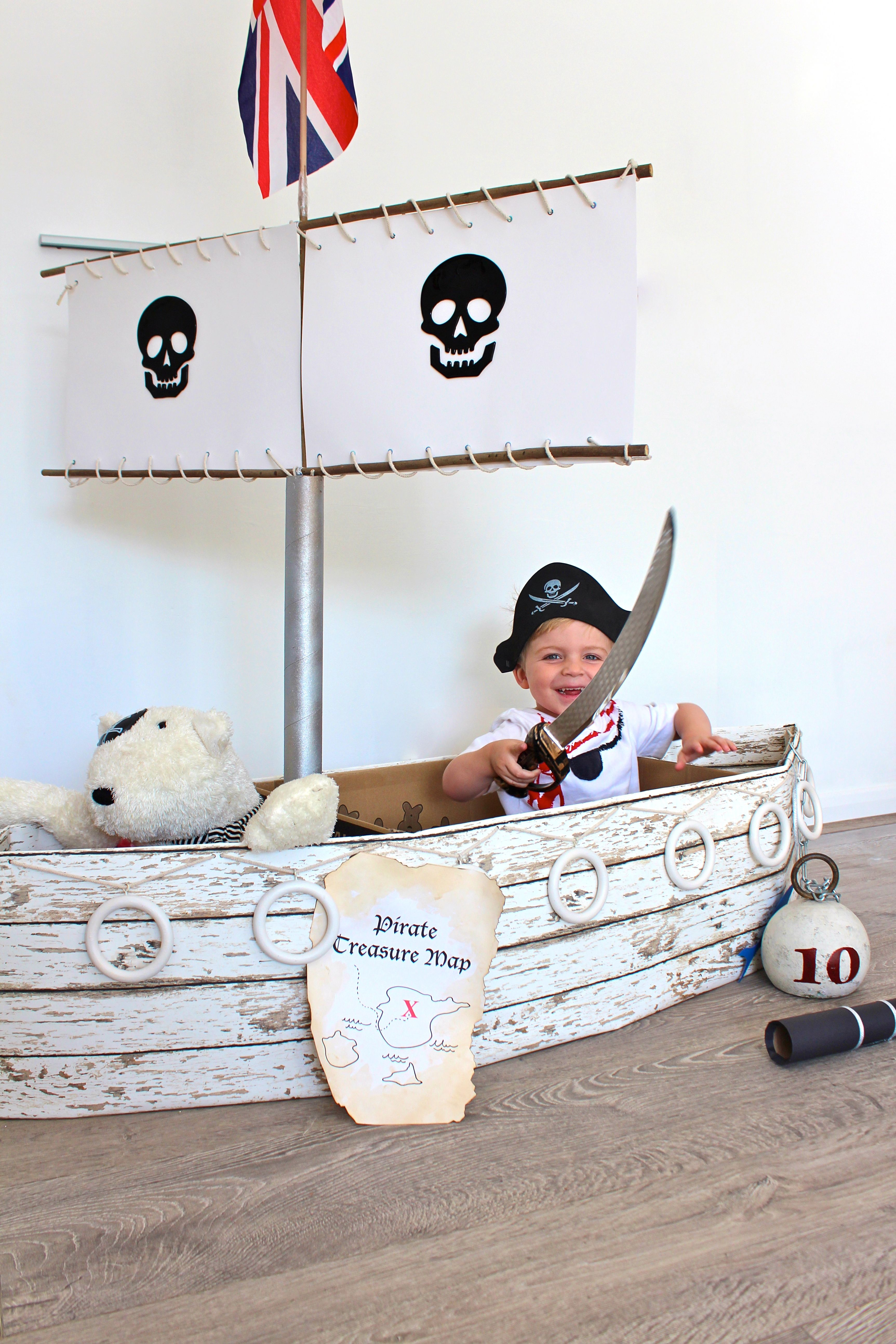 pirate ship tutorial