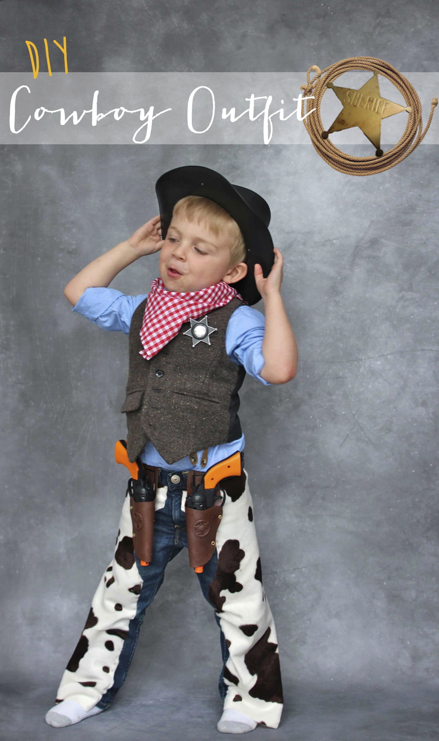 homemade cowboy outfit