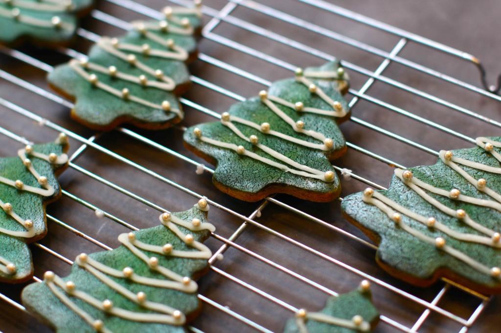 spruce christmas cookies