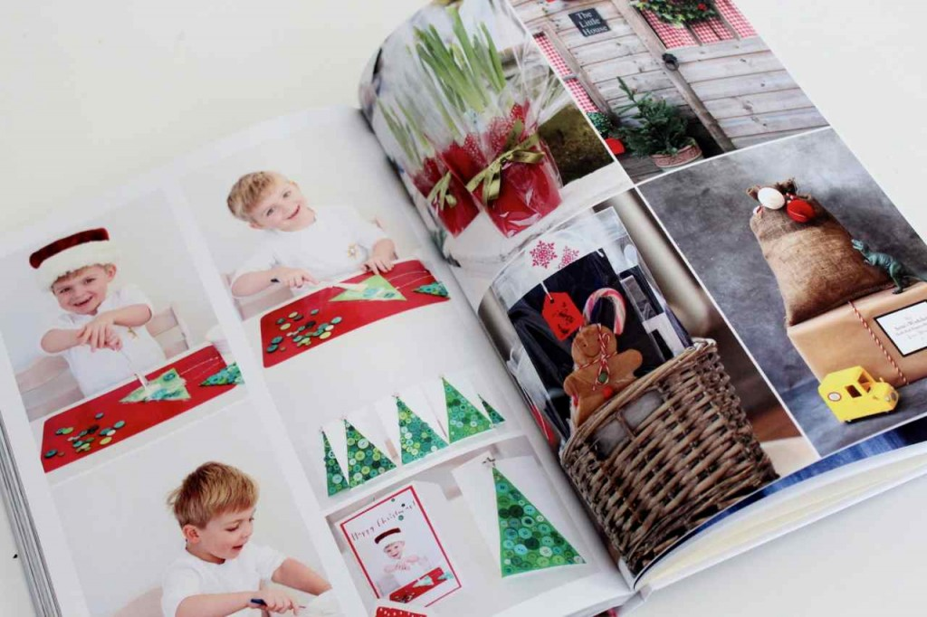 Family album christmas crafts