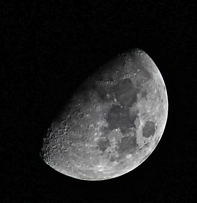Second shot of the moon