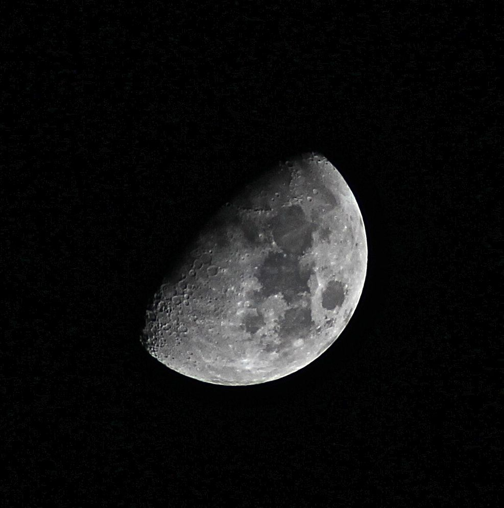 The Moon in January
