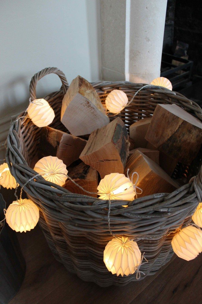 origami log basket