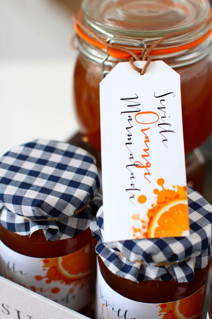 Homemade Marmalade Tags