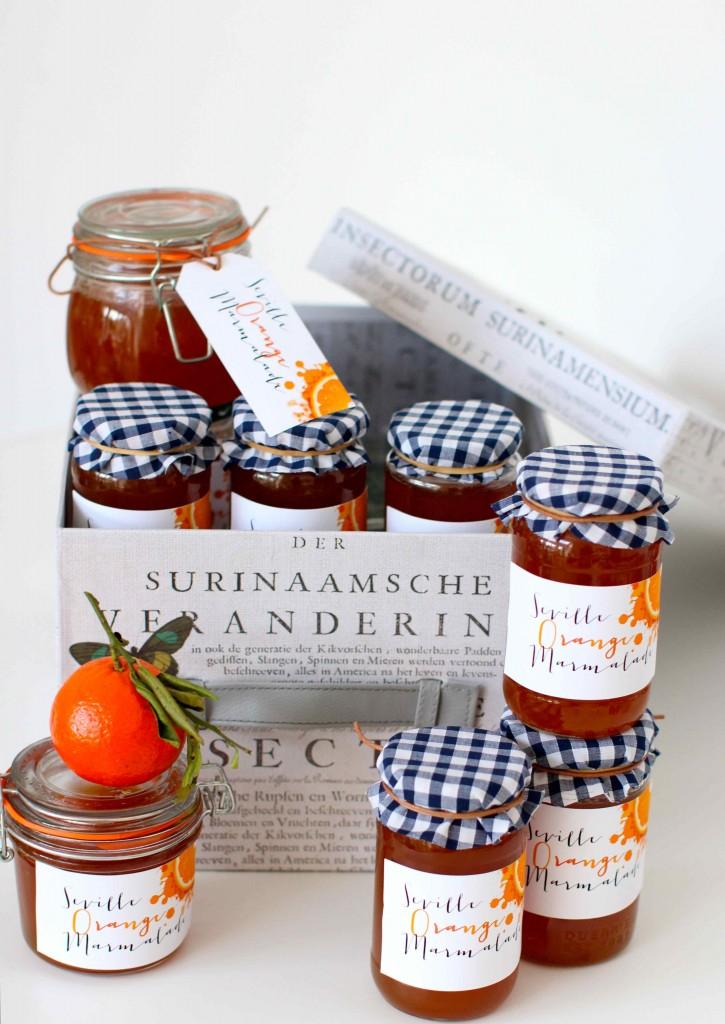Valentines Marmalade Jars