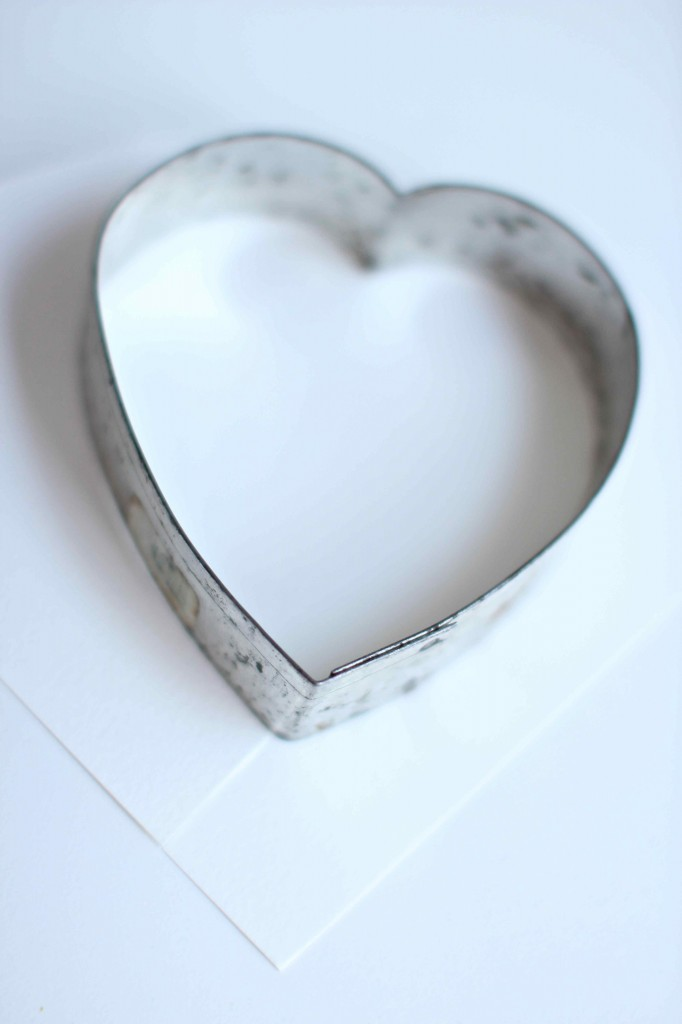 how to make torn paper hearts