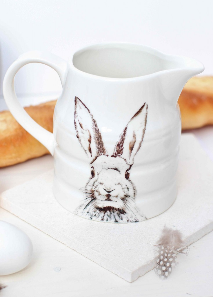 DIY Bunny graphic mug