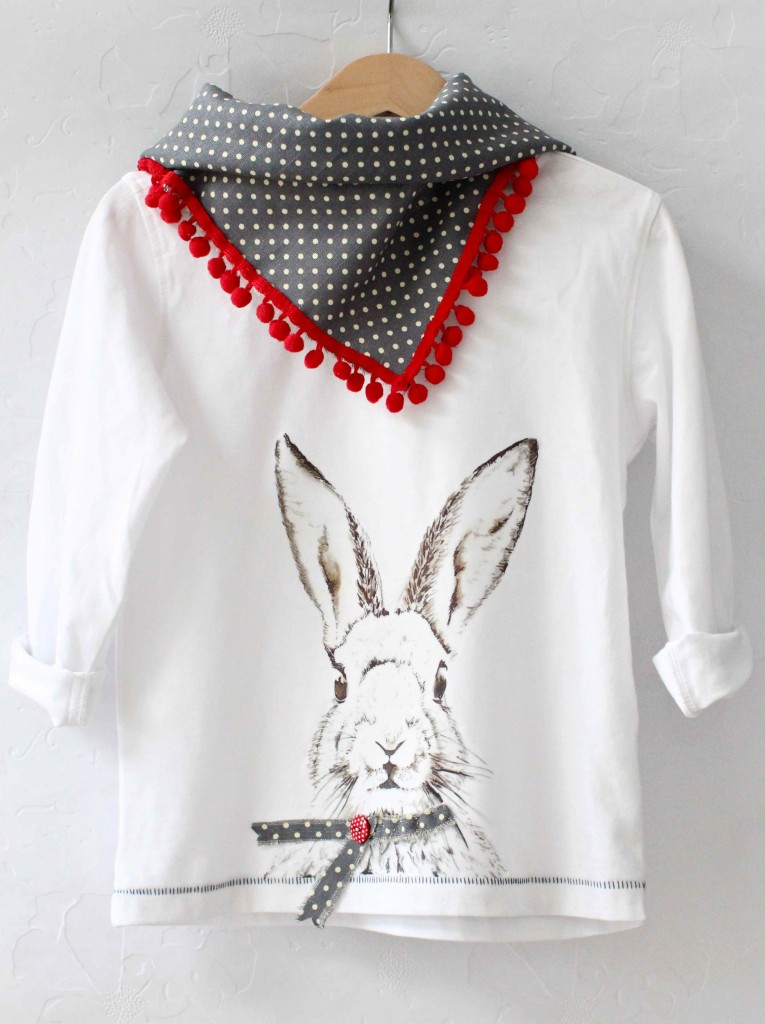 DIY Cool Bunny Shirt