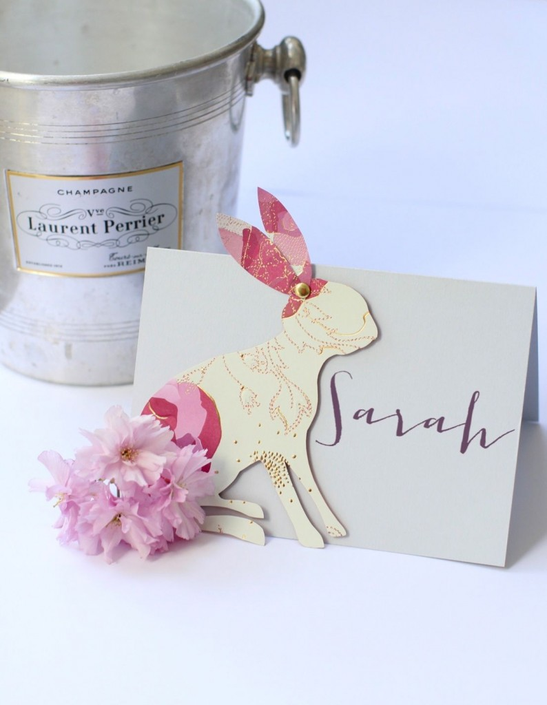 Bunny place card