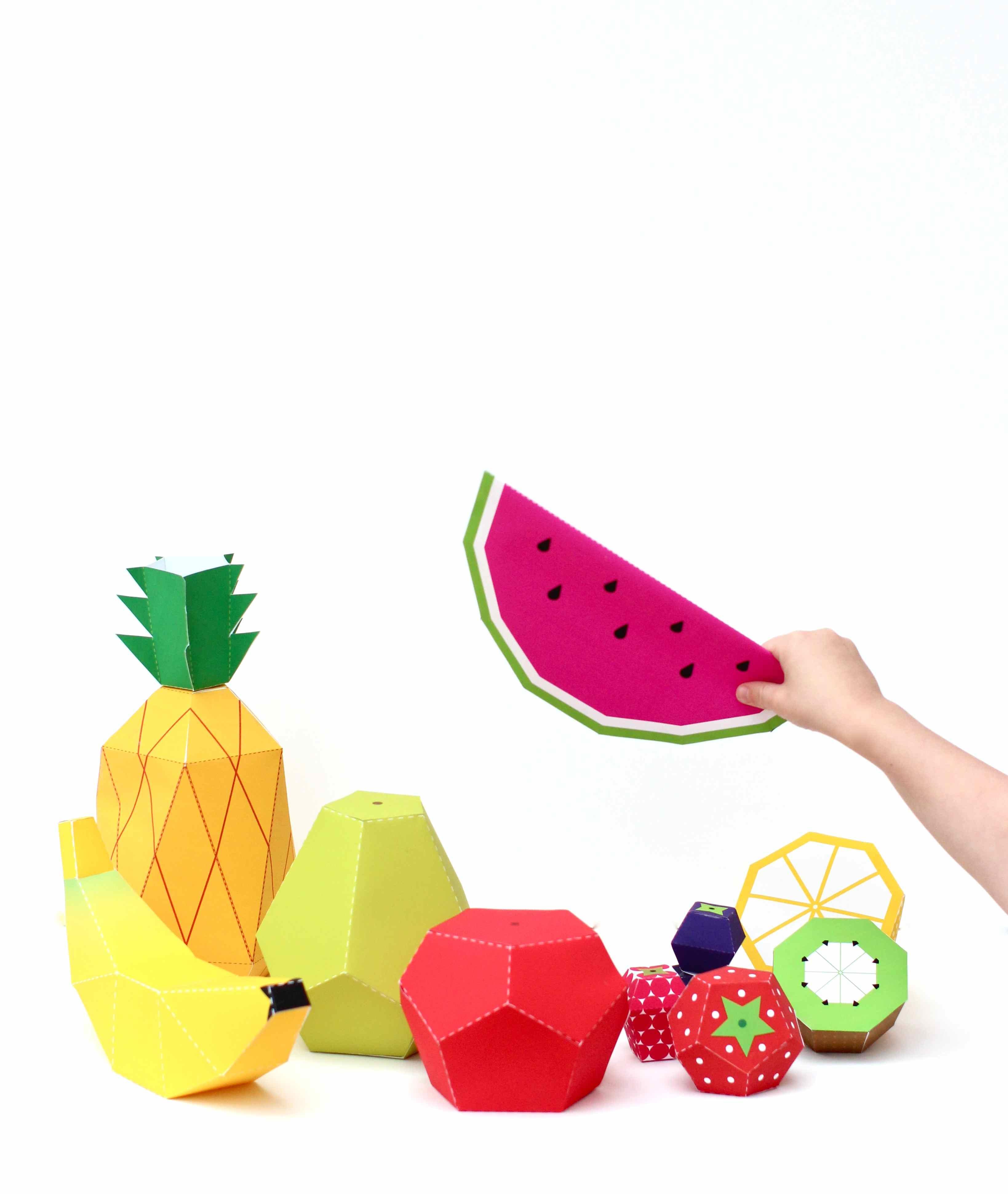 Tempting paper Fruit  sc 1 st  Kate\u0027s Creative Space & paper fruit