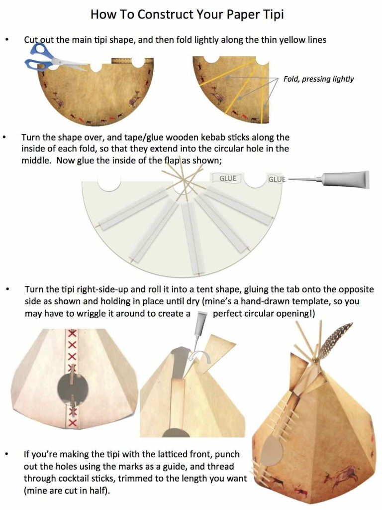 Tipi Instructions
