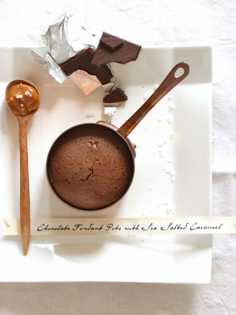 Hot chocolate fondants from katescreativespace