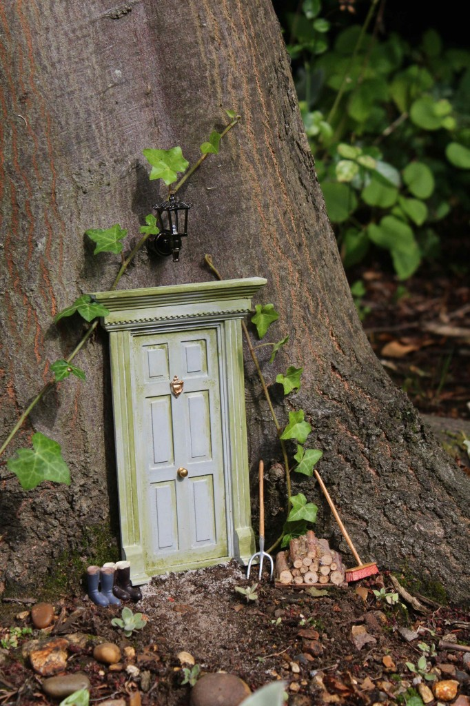 The door in the woods for Idea behind fairy doors