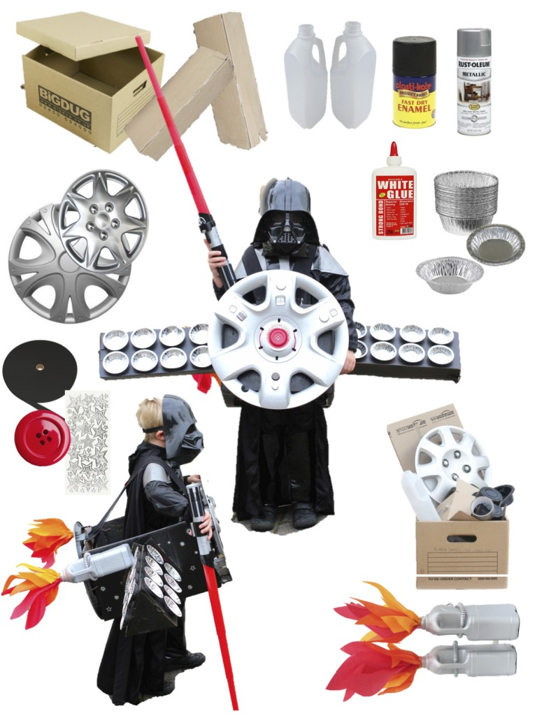 DIY Star Wars Ship Materials