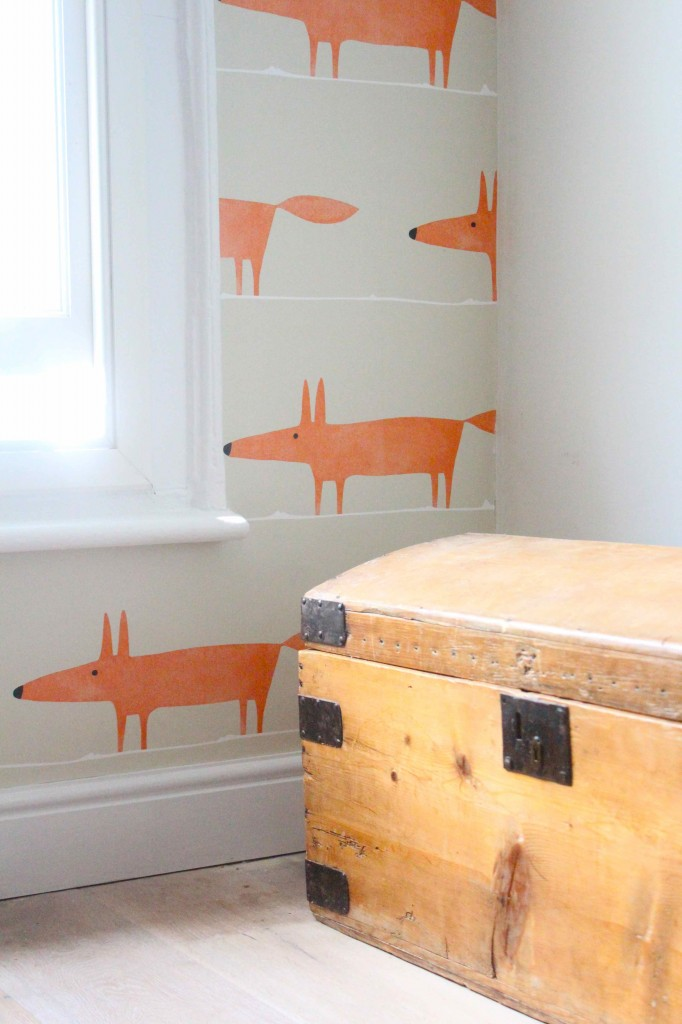 Mr Fox Ginger Wallpaper