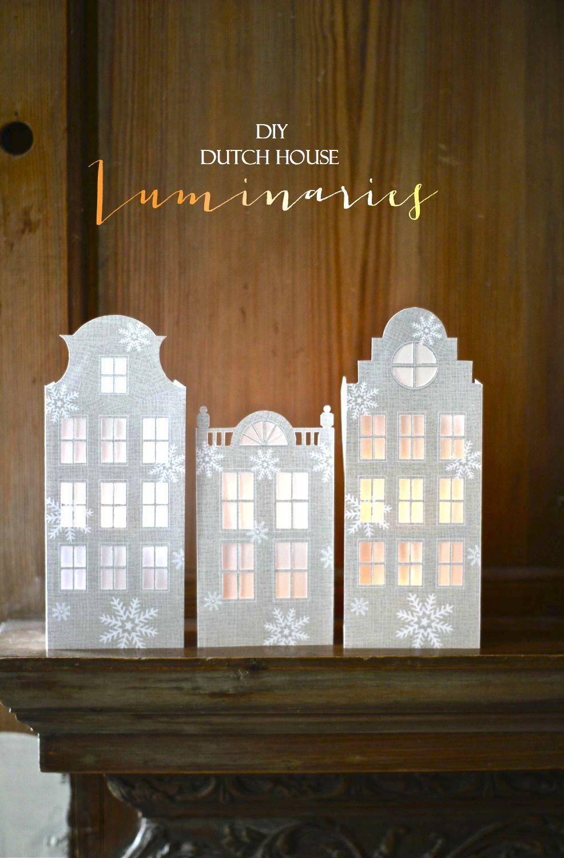 Candles diy dutch canal house luminaries solutioingenieria Images