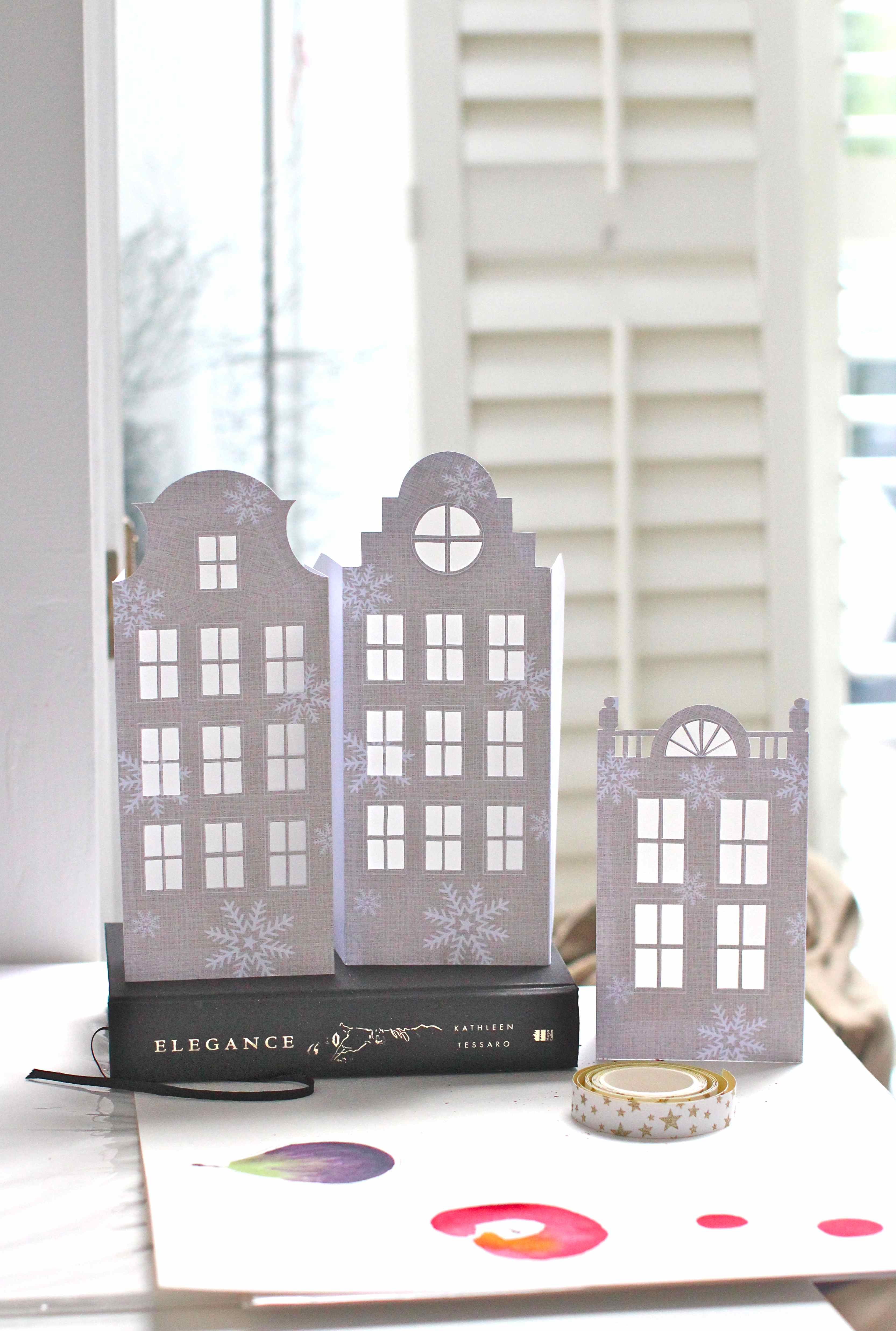 Diy Dutch Canal House Luminaries