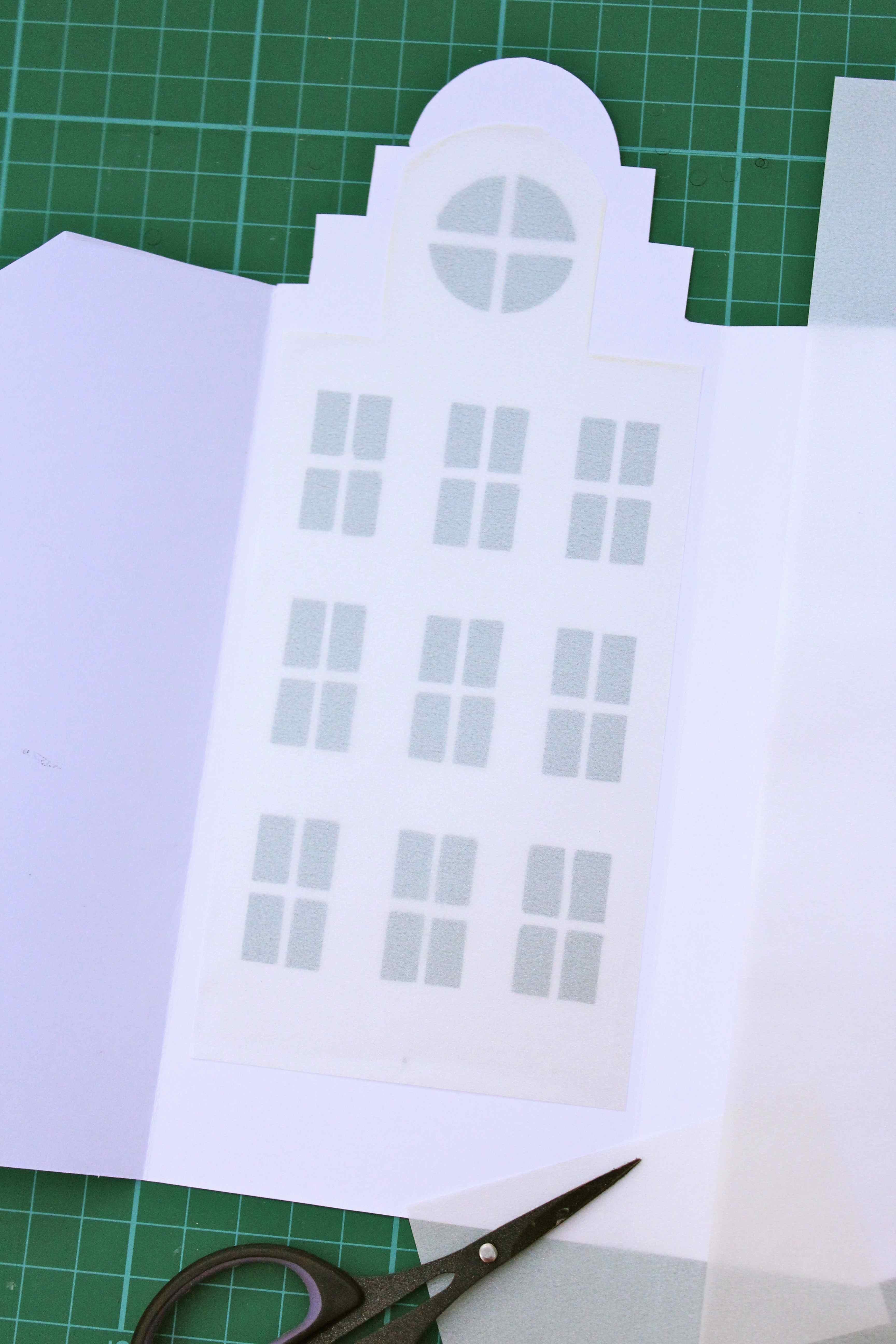 Diy dutch canal house luminaries for Making luminaries