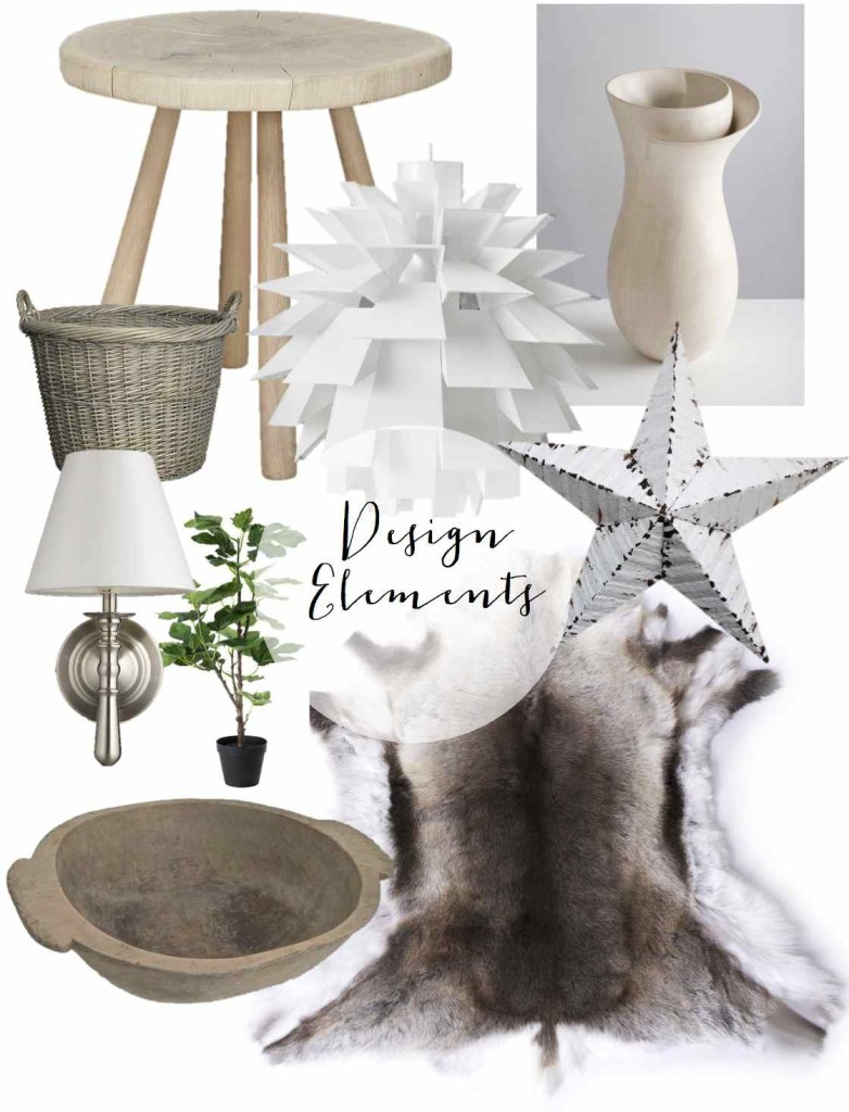 Design elements for the guest room