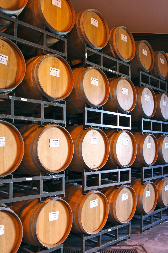Wine tasting and touring the winery at Chateau Julien