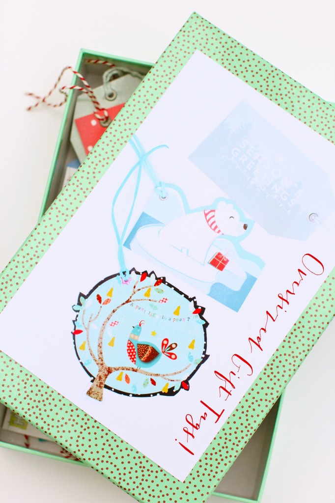 Boxed Christmas Gift Tags