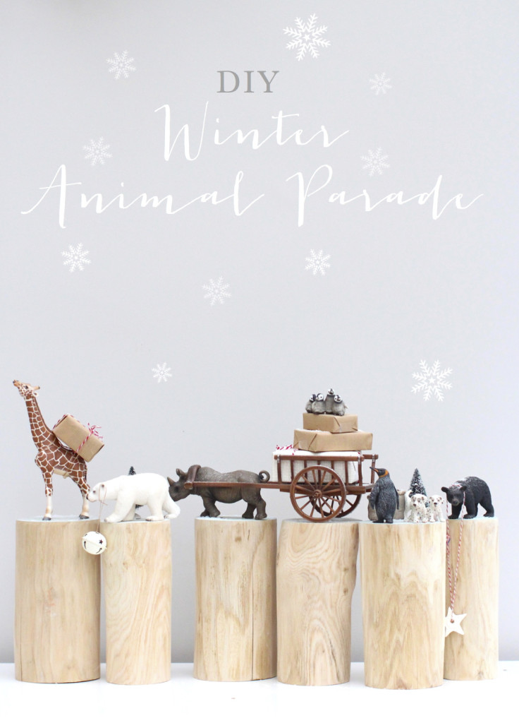 DIY Winter Animal Parade
