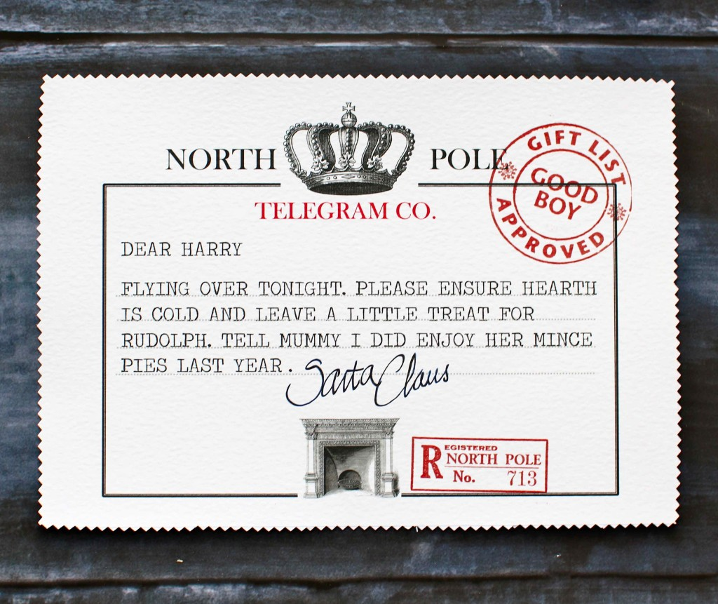 North Pole Telegram 2013
