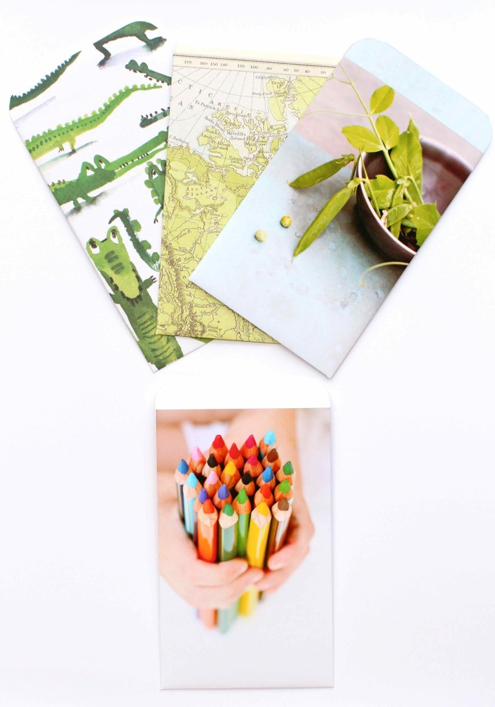 DIY Photo Envelopes with template