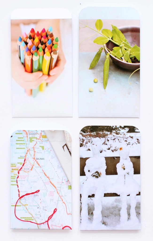 How to make photo envelopes