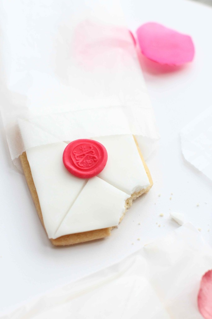 Love Letter Cookie for Valentines