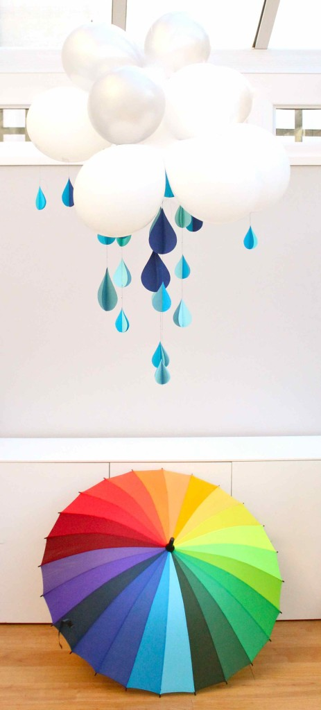 DIY Indoor Raincloud