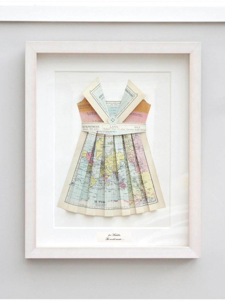 Matilda's Map Dress
