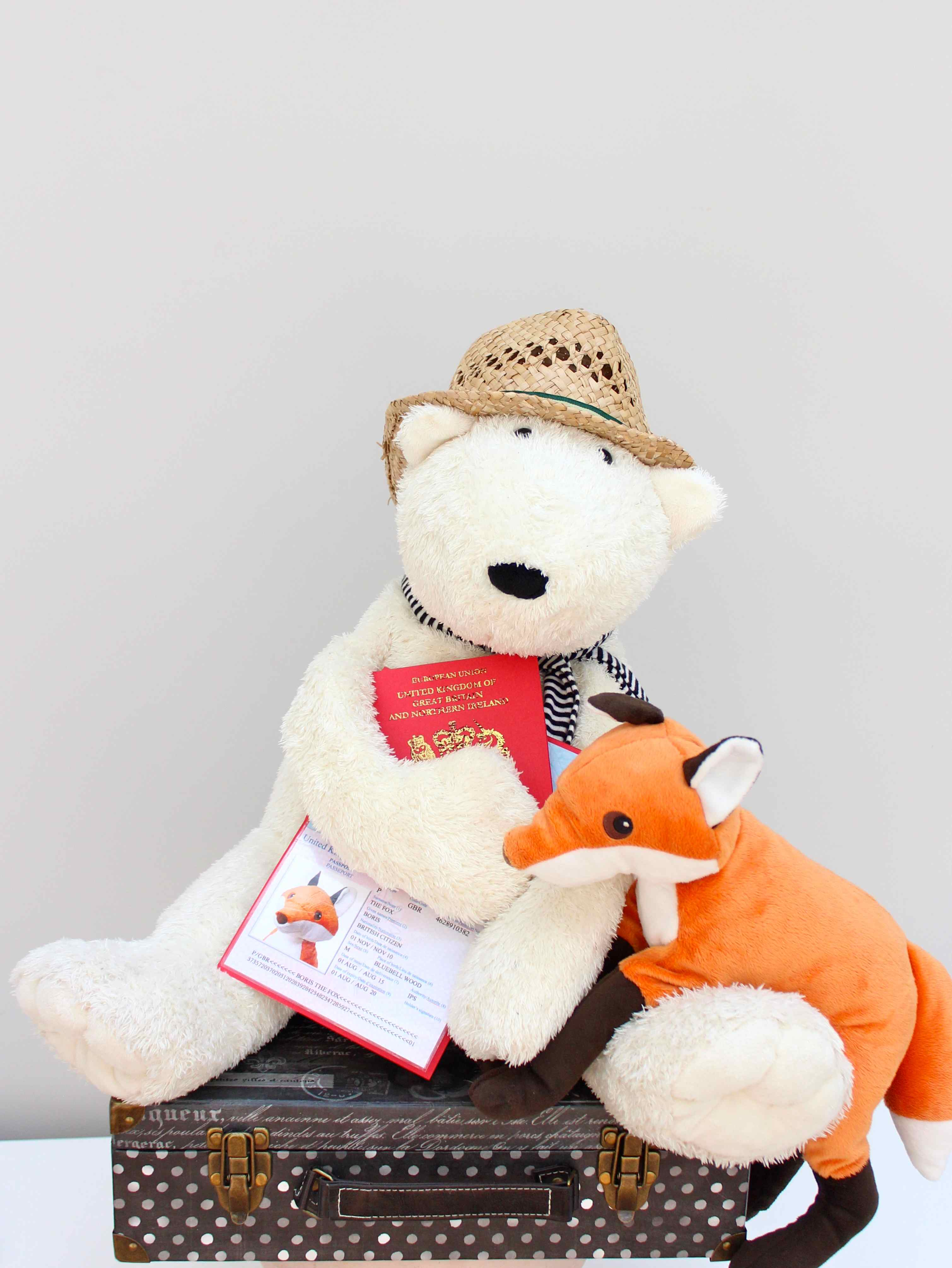 Teddy Laden passports or how to take the entire family on