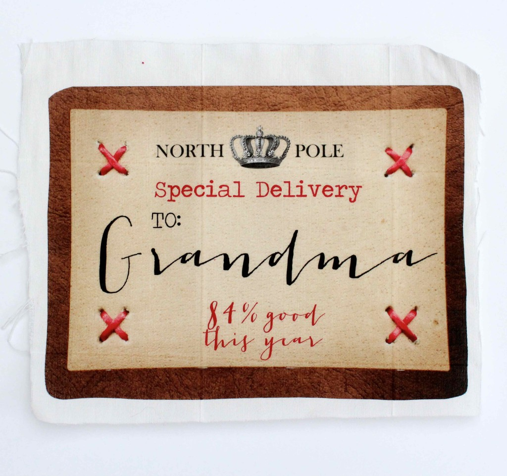 Personalised Santa Sack Labels